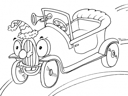 Coloriage Voiture 24