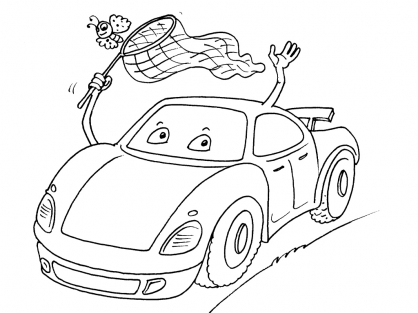Coloriage Voiture 25