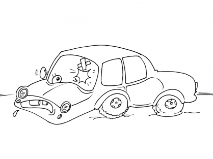 Coloriage Voiture 29