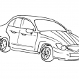 Coloriage Voiture 9