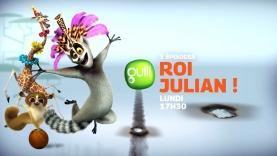 Roi Julian ! L'élu des lémurs, dès Lundi sur Gulli