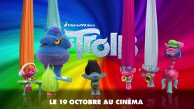 Les Trolls : mets de la couleur dans ta vie