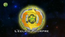 Beyblade Metal Fury épisode 8 - L'éclair pourpre