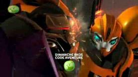 Transformers : Prime dans Code Aventure !