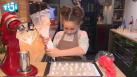 mini atelier de noel champignons meringue