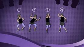 La leçon de danse avec les L2M !