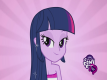 Portrait de twilight Sparkle dans Equestria Girls - My Little Pony
