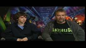 Interview Luc Besson et Freddie Highmore