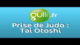 Prise de Judo : Tai Otoshi