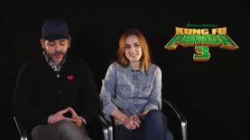 L'interview des comédiens qui doublent les personnages de Kung Fu Panda 3