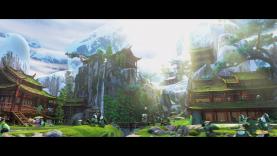 Le village panda