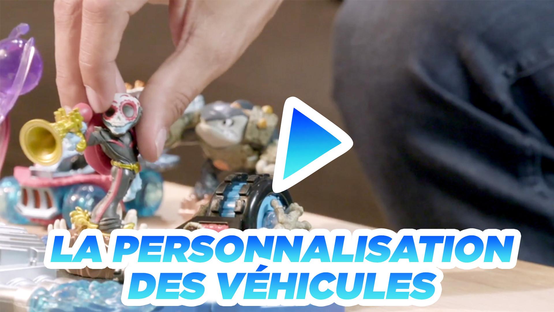 La personnalisation des véhicules
