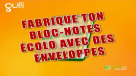 Fabrique un bloc-notes écolo