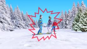 skizzz Attention aux autres skieurs sur les pistes !