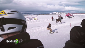 Wazup épisode 1 : Le Ski joëring à cheval