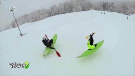 Wazup épisode 3 : Le Snow kayak