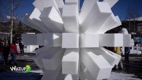 Wazup épisode 4 : La Sculpture sur neige