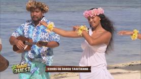 Le cours de danse tahitienne