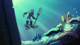 LEGO Bionicle en eclu sur Gulli.fr