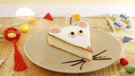 Gâteau au fromage Kiri ® : la souris Kiri ®