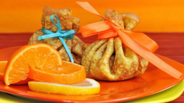 Crêpes à la crème d'orange