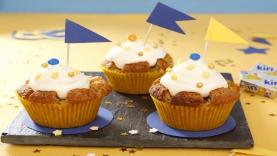 Cupcake Kiri ® aux amandes : la forteresse Kiri ®