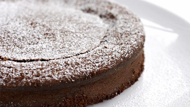 Gâteau au chocolat - marron