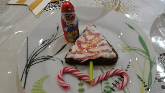 Le sapin sucette de Noël