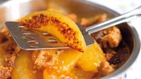 Poêlée d'abricots au pain d'épices