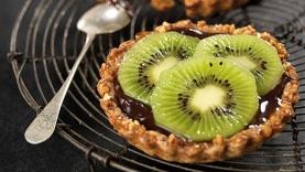 Tartelette express kiwi-chocolat