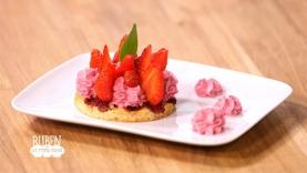 Tartelettes aux 3 fraises