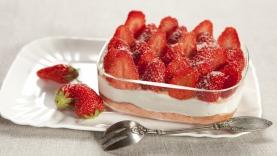 Tiramisu minute aux fraises