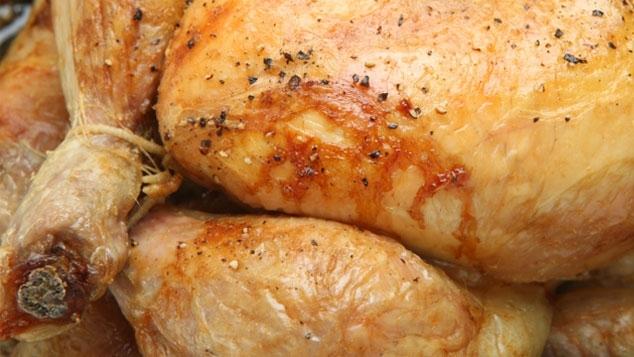 Chapon au foie gras et pain d'épices