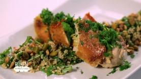 Filet de Volaille farci aux légumes et son taboulé de quinoa