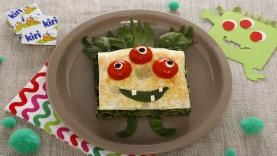 Lasagnes Kiri ® et épinards : le monstre Kiri ®