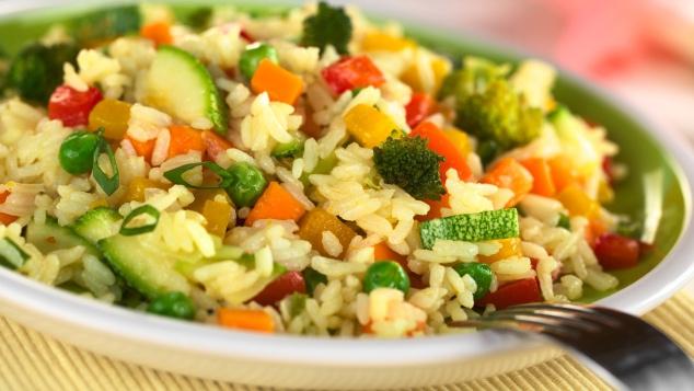Recette sur le riz for Decoration de plat avec des legumes