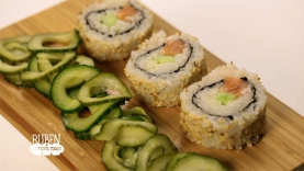 Makis California & mayonnaise mousseline