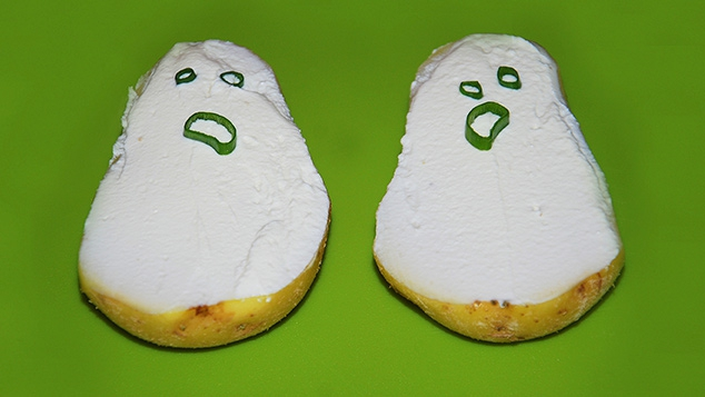 Pommes de terre fantômes