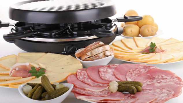 raclette plats recettes de cuisine gulli. Black Bedroom Furniture Sets. Home Design Ideas