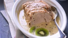 Rôti de veau aux kiwis