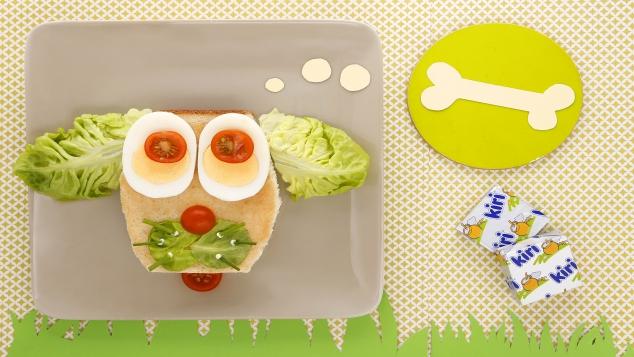 Sandwich poulet salade et fromage : le chien Kiri ®