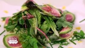 Taboulé de chou – fleur et brocoli et sa vinaigrette au jus de carotte