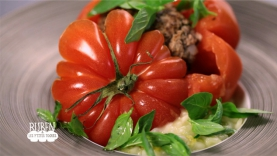 Tomates Surprises et Risotto de Tomates Vertes
