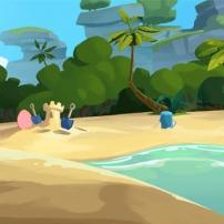 la plage de l'île aux cochons