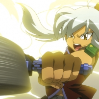 Beyblade Metal Fury, Tsabasa lance Earth Eagle