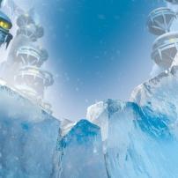 Bionicle : La région de la glace sur l'île d'Okoto