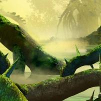 Bionicle : La région de la jungle sur l'île d'Okoto