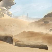Bionicle : La région de la pierre sur l'île d'Okoto