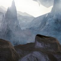 Bionicle : La région de la terre sur l'île d'Okoto