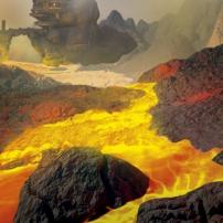 Bionicle : La région du feu sur l'île d'Okoto